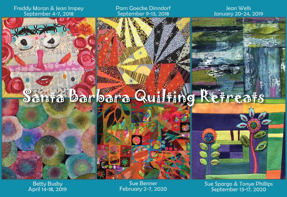 Upcoming Retreats Santa Barbara Quilting Retreats