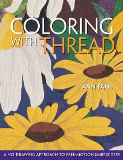 Coloring with Thread by Ann Fahl